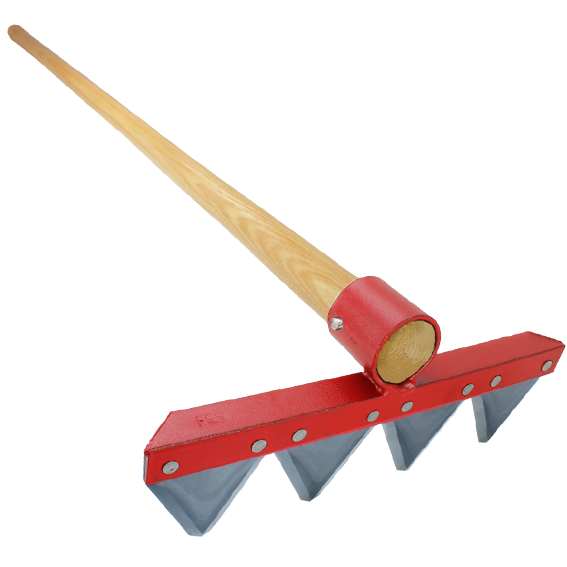 Council Tool Fire Rake, 60 Handle