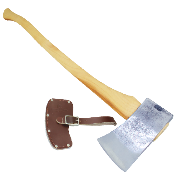 COUNCIL TOOL 4 LB. VELVICUT AMERICAN FELLING AXE - 36 HANDLE