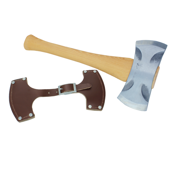 Council Tool Velvicut Premium Saddle Axe, 16-Inch Handle