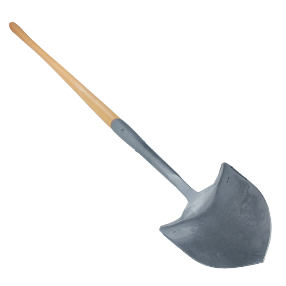 Council Tool Forest Fire Shovel with Solid Shank