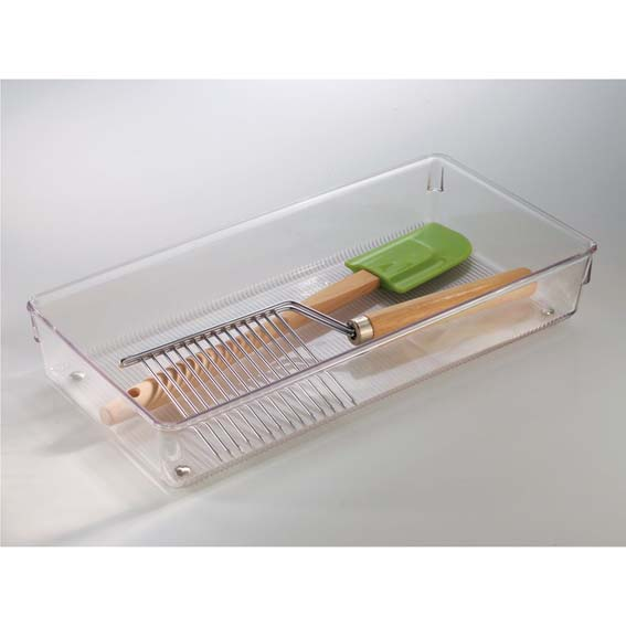 Interdesign 52650 Linus Large Drawer Organizers, 6 ct