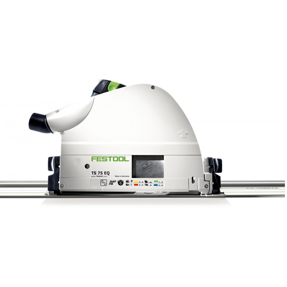 Festool 575389 TS 75 EQ-F-PLUS Plungecut Saw Only, Imperial