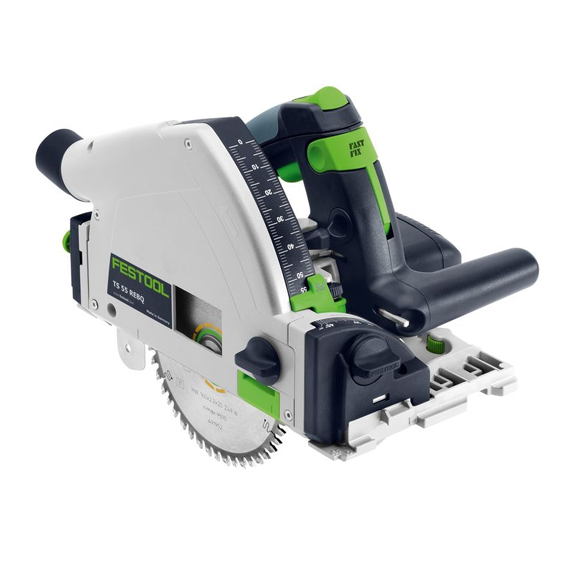 Festool 575387 TS 55 REQ-F-PLUS Plunge-Cut Track Saw Only - Imperial