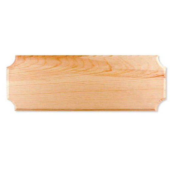 HILLMAN 844113 NATURAL PINE ADDRESS PLAQUE - 6 INCH X 17 INCH