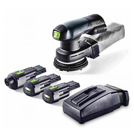 Festool 201531 ETSC 125 18V LI 3 1Ah Cordless Eccentric Sander Set