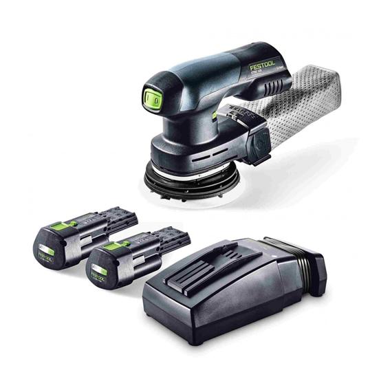 Festool 201530 ETSC 125 18V LI 3 1Ah Cordless Eccentric Sander Plus