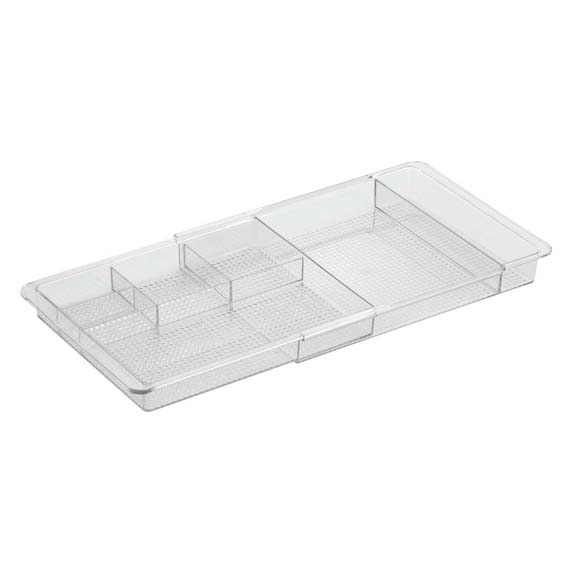 INTERDESIGN 38280 CLARITY COSMETIC EXPANDABLE DRAWER ORGANIZER