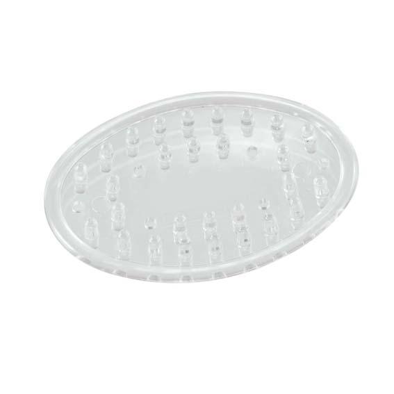 Interdesign 30300 Small Clear Soap Savers - 2 Pk.