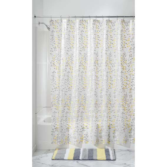 Interdesign 32481 Vine Peva Shower Curtain