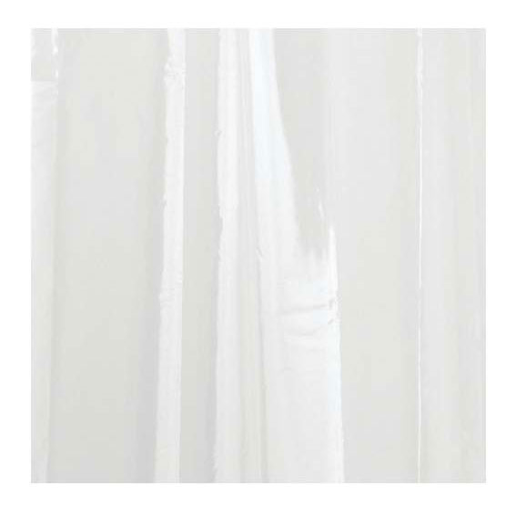 INTERDESIGN 12052 PEVA 3 GAUGE SHOWER LINER - CLEAR