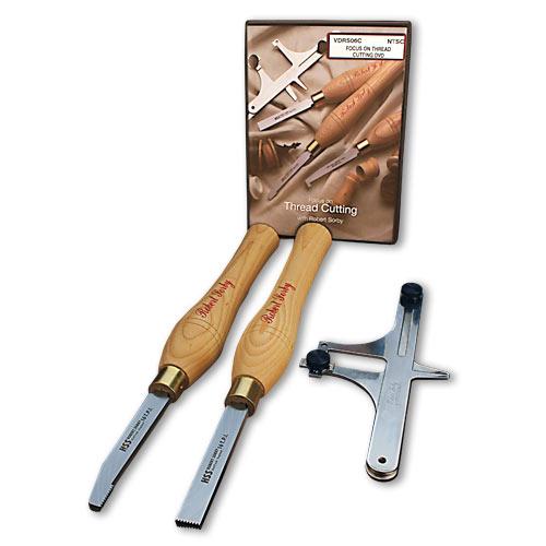 Sorby 89HS10 Thread Cutting Tool Set, 10 TPI