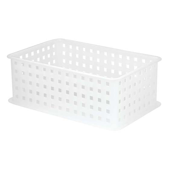 INTERDESIGN 46800 X/2 MODULON STACKABLE STORAGE BASKET