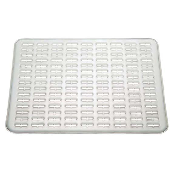 Interdesign 49780 Synchware Small Sink Mat, Clear