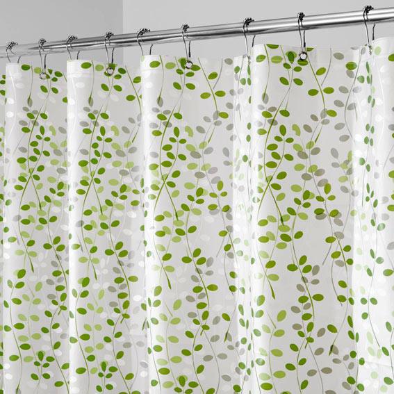 Interdesign 32480 Vine PEVA Shower Curtain