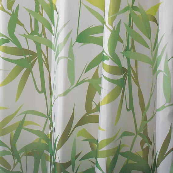 INTERDESIGN 36524 ANZU FABRIC SHOWER CURTAIN