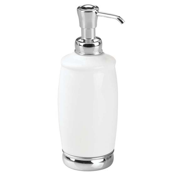 Interdesign 75601 York Pump Soap & Lotion Dispenser