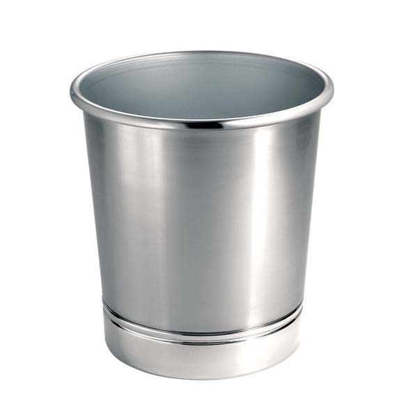 Interdesign 74721 York Waste Can - Split Finish