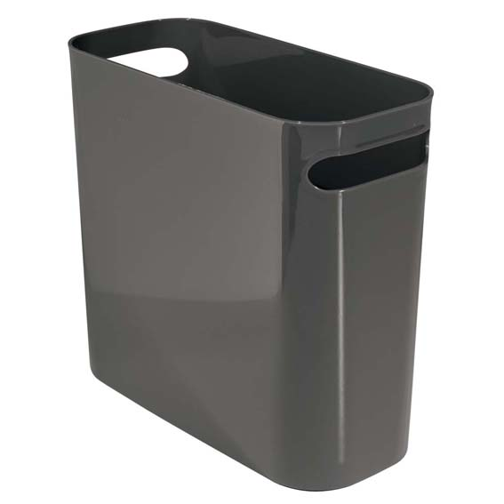 Interdesign 93077 Slate Una 10 Waste Can