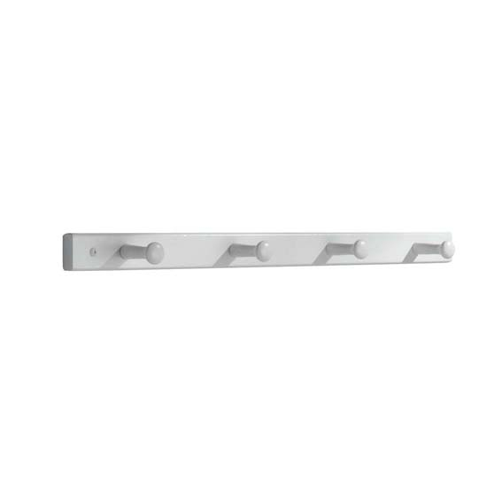 INTERDESIGN 91519 4 PEG WOODEN WALL MOUNT RACK