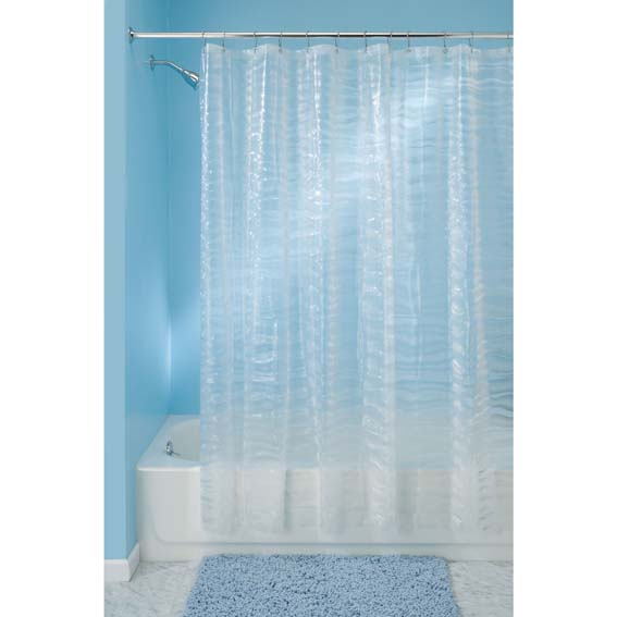 Interdesign 29180 Ripplz Eva Shower Curtain