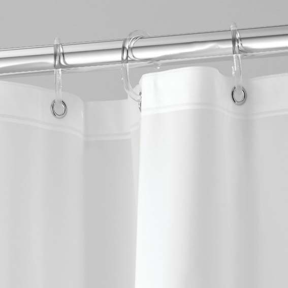 Interdesign 14762 Soft Touch EVA Shower Liner