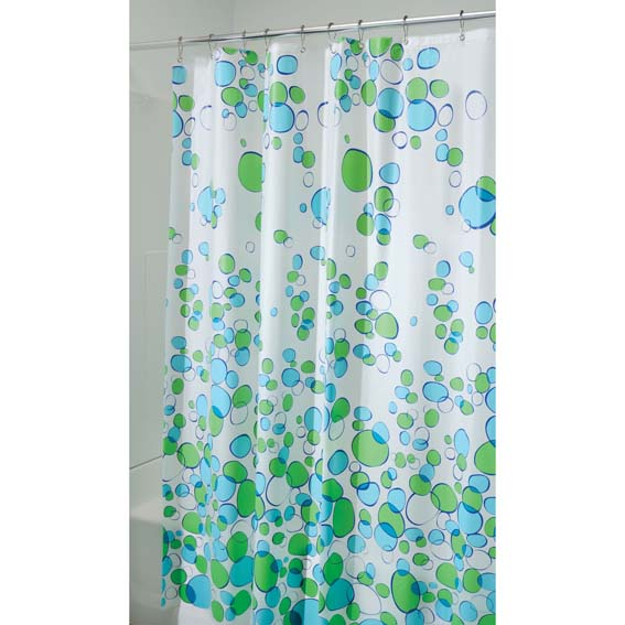 Interdesign 28680 Bubblz Peva Shower Curtain