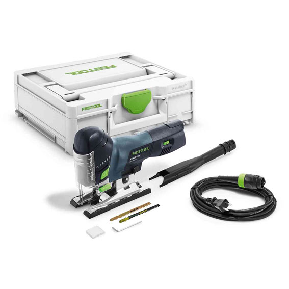 Festool 576181 Carvex PS 420 EBQ-Plus Barrel Grip Jig Saw - Contents