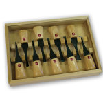 FLEXCUT #FR405 9 PC. DELUXE PALM CARVING SET