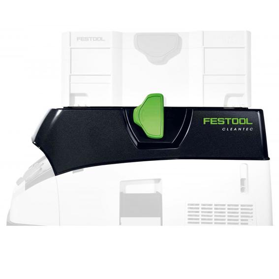 Festool 204040 T-LOC Hose Garage for CT 26 & 36 - In Use