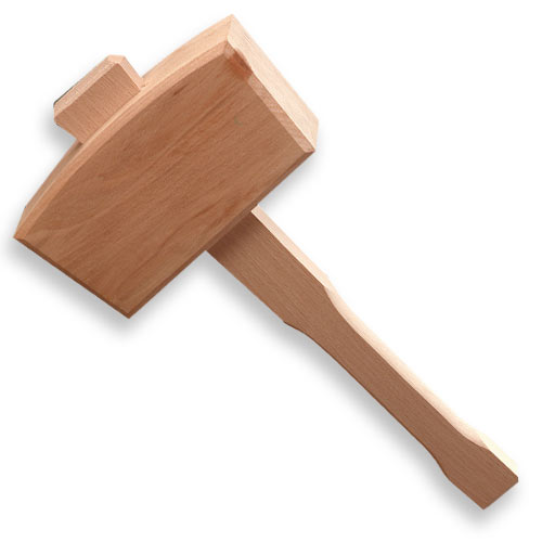 Crown 108 Beech Joiners Mallet, 6-Inch