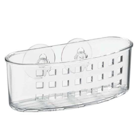 Interdesign 23600 Suction Shower Caddy Basket