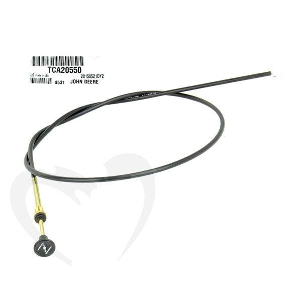 John Deere #TCA20550 Choke Cable