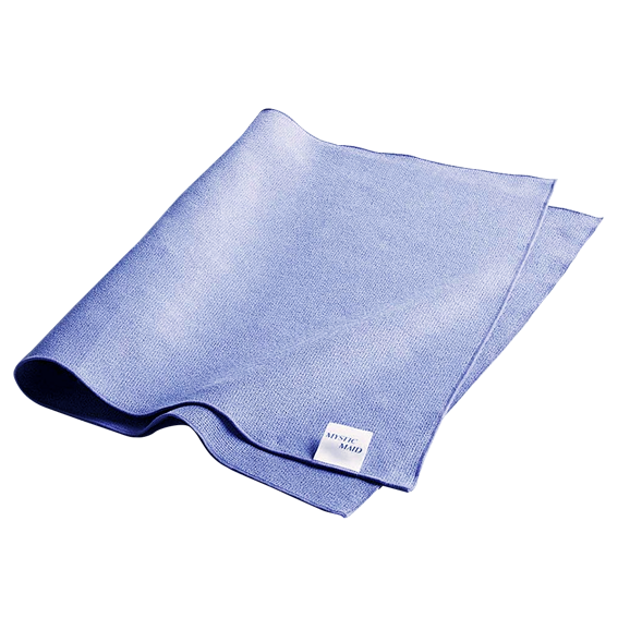 MYSTICMAID ORIGINAL MICROFIBER CLEANING CLOTH - BLUE - 4 PK