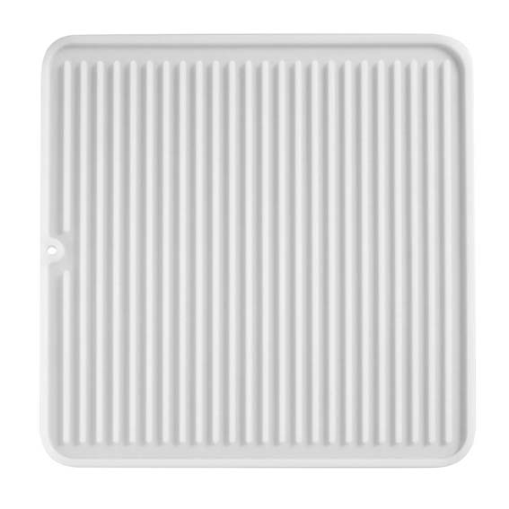 Interdesign 63680 Lineo Medium Clear Silicone Drying Mat
