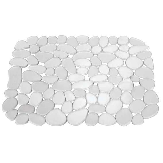 INTERDESIGN 60060 PEBBLZ REGULAR CLEAR SINK MAT