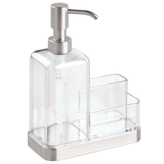 Interdesign 67080 Forma 2 Soap & Sponge Caddy