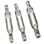 SNAPPY 3 PC. SELF-CENTERNG DRILL GUIDE SET