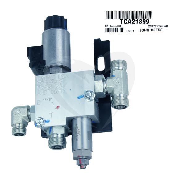 John Deere #TCA21899 Solenoid Hydraulic Valve