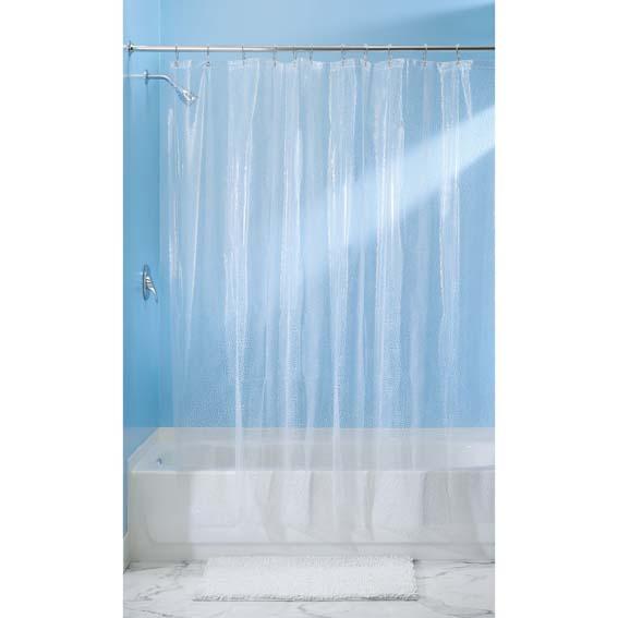 Interdesign 21981 Rain EVA Shower Curtain