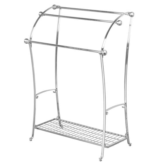 Interdesign 79250 York Lyra Floor Towel Rack