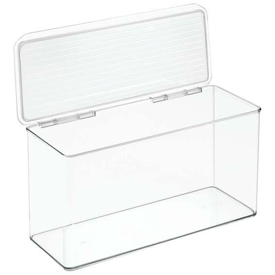 Interdesign 67630 Kitchen Binz Stackable Organizer, 6 6 Quart