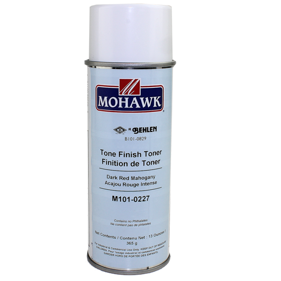 Mohawk M101-0227 Dark Red Mahogany Tone Finish Toner, 13 ounce