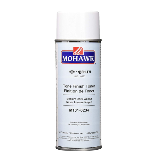 Mohawk M101-0234 Medium Dark Walnut Tone Finish Toner, 13 ounce