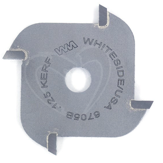 WHITESIDE #6705B 4-WING SLOTTING CUTTER - 1/8 INCH