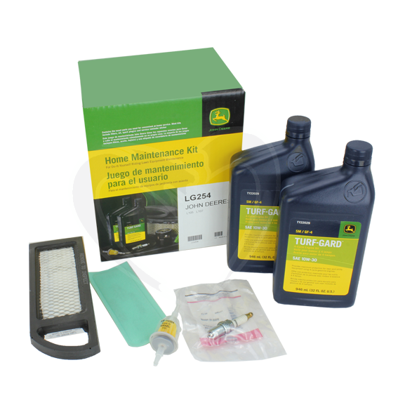 JOHN DEERE #LG254 HOME MAINTENANCE KIT FOR 105 OR 107 MODELS