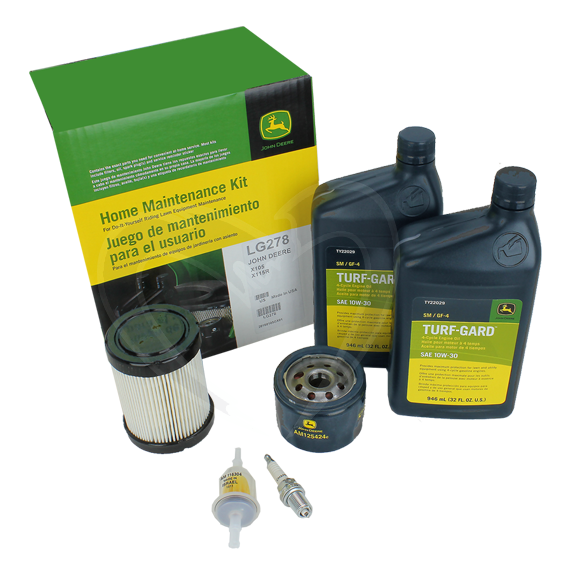 JOHN DEERE #LG278 HOME MAINTENANCE KIT FOR 100 SERIES