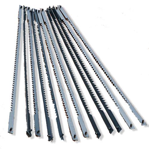 Olson Coping Saw Blades - Coarse 6-1/2 Inch x 10 TPI - 12 Pk