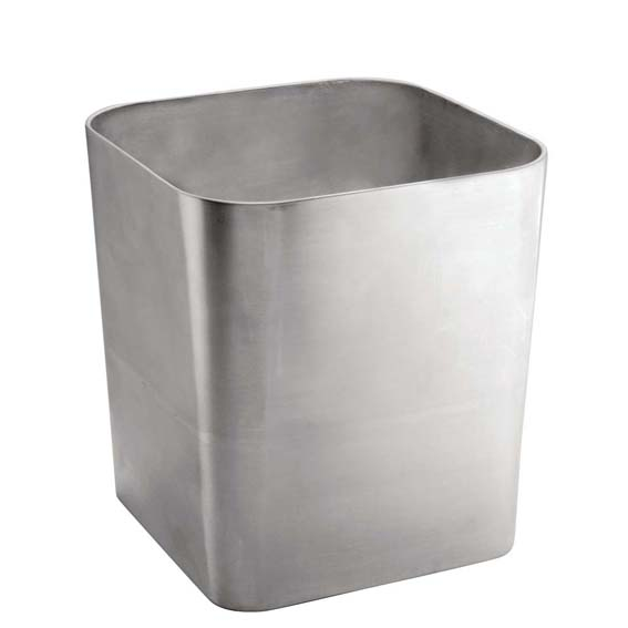Interdesign 16580 Gia Stainless Steel Waste Basket