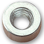 Steel Magnet Washer - 1/4