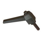 MALE RATCHETING HANDLE - 1/4-20 x 1-1/2 STUD